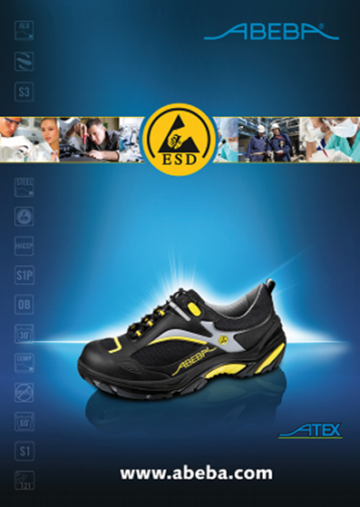 Антистатическая обувь Abeba (Абеба)