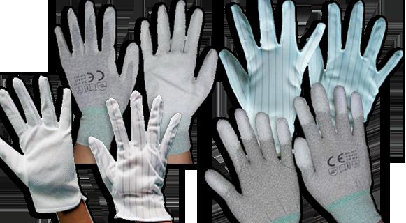 Антистатические перчатки, по наличию в Москве, от поставщика СмартКомплект