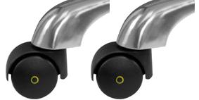 Комплект антистатических колес (5 шт.) Новатор