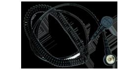 Витой шнур для заземления антистатического браслета 10 мм, от компании СмартКомплект